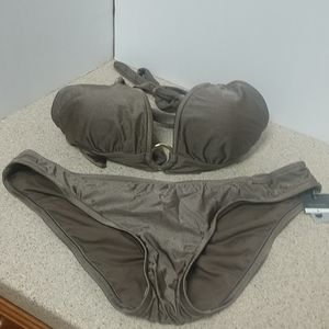 Bronze Bikini Size Large